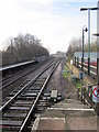 SO9669 : Bromsgrove Station South From Platform One by Roy Hughes