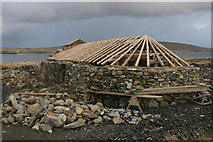 HP6311 : Replica Viking Longhouse, Haroldswick by Mike Pennington