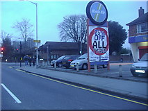 TQ3266 : St James's Road at the junction of Sydenham Road by David Howard