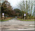 ST0474 : Minor road on the north side of the A48 east of Cowbridge by Jaggery