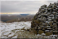 NT3127 : Summit cairn, Mountbenger Law by Jim Barton