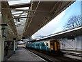 ST3088 : Platform 4, Newport Station by Robin Drayton