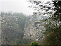 ST5673 : Clifton Suspension Bridge from Leigh Woods by Alex McGregor