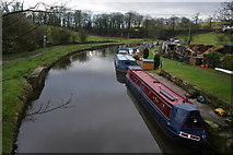 SD9151 : The Leeds and Liverpool Canal at East Marton by Bill Boaden