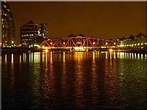 SJ8097 : The Detroit Swing Bridge by David Dixon