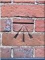 SU5493 : Cherry Tree Cottage benchmark by Bill Nicholls