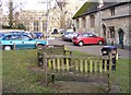 SP2512 : Burford Benches by Gordon Griffiths