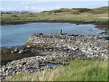NR6880 : Old jetty at Keills by Bob Jones