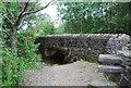 NN3300 : Small bridge, Old Military Road, Loch Lomond by N Chadwick