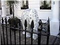 TQ2678 : Indian Elephant in Sumner Place, London by PAUL FARMER