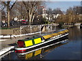 TQ2681 : Little Venice, Winter Moorings by Colin Smith