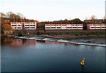 SJ4065 : Pink Apartments by Des Blenkinsopp
