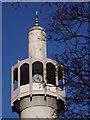 TQ2782 : Minaret, Regent's Park Mosque by Colin Smith