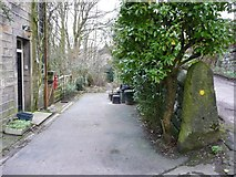 SE0023 : Footpath off Castle Gate, Cragg Vale by Humphrey Bolton