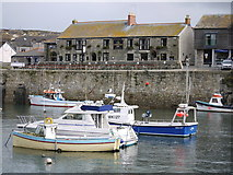 SW6225 : Harbour Inn Porthleven Cornwall by sue hogben