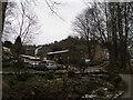 SD9529 : Rodmer Clough Farm and Pottery by John Slater