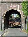 SJ9214 : Railway arch at Penkridge, Staffordshire by Roger  Kidd