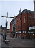 SU1584 : Pilgrim Centre, Regent Circus by Vieve Forward