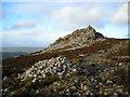 SO3698 : Manstone Rock by Mark Percy
