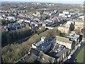NZ2742 : University rooftops, Durham by Christine Johnstone
