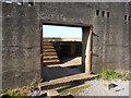 ST2859 : Brean Down - Brean Down Fort Gun Emplacement by Chris Talbot