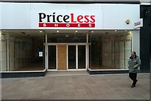 SU1584 : Priceless, Regent Street, Swindon by Brian Robert Marshall