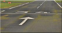 J4972 : Runway, Newtownards Airport (4) by Albert Bridge