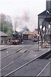 NZ8204 : Grosmont: North Yorkshire Moors Railway, engine shed by Christopher Hilton