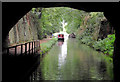 SJ8219 : Cutting north of Cowley Tunnel at Gnosall Heath, Staffordshire by Roger  Kidd