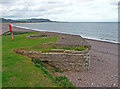 ST0243 : Blue Anchor - Pillbox And Gun Emplacement by Chris Talbot