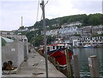 SX2553 : Fishing Boats and Fishing Gull at Looe by Eric Foster