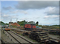 SS9944 : Dunster - Railway Sidings by Chris Talbot