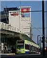 TQ3265 : Tram at East Croydon by Peter Trimming