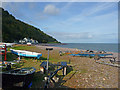 SS9747 : Minehead - Foreshore by Chris Talbot