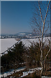 TQ2352 : View from Mount Hill in snow by Ian Capper