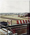 TQ2841 : Gatwick airport from viewing area by nick macneill