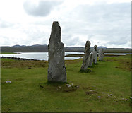 NB2133 : Calanais / Callanish I - Western Arm and Loch Ròg by Rob Farrow