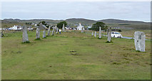 NB2133 : Calanais / Callanish I - Northern Avenue by Rob Farrow