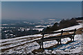 TQ2452 : Colley Hill in snow by Ian Capper