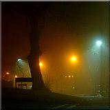 SO9096 : Dual colour street lighting in Penn, Wolverhampton by Roger  Kidd
