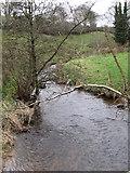 J1532 : The Clanrye River above the Ballykeel Road Bridge by Eric Jones