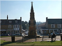 ST6316 : Sherborne: Wingfield Digby memorial from behind by Chris Downer