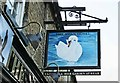SP4309 : The Swan Hotel (2) - sign, 21 Acre End Street, Eynsham by P L Chadwick