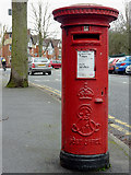 SO9098 : Edward VII post box by West Park, Wolverhampton by Roger  Kidd