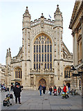 ST7564 : Bath Abbey by Andrew Hackney