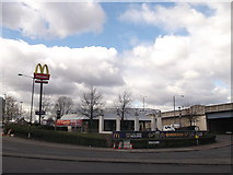 TQ3880 : Poplar, McDonald's Restaurant (2) by David Anstiss