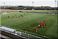 NT5035 : The new 3G pitch at Netherdale, Galashiels by Walter Baxter