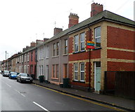 ST3288 : Houses at the northern end of Duckpool Road, Newport by Jaggery