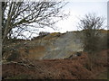 SW7641 : Spoil heap, Nangiles mine by Chris Andrews