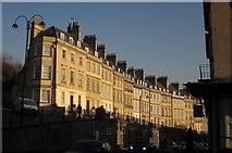 ST7565 : Walcot Parade, Bath by Derek Harper